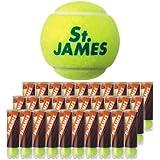 DUNLOP(ダンロップ) 硬式テニスボール St.JAMES(セントジェームス) 2箱セット商品 30缶入り 120球