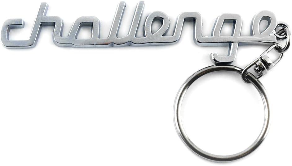 General Chrome Metal Car Key Chain Key Ring with 308 Logo