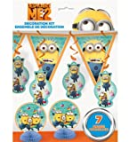 Despicable Me 2 Party Decorating Kit – 7 Count