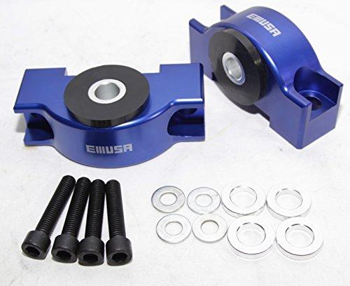 - EMUSA Engine Billet Motor Torque Mount fit 92-00 Honda Civic/93-97 Honda Civic Del Sol/94-01 Acura Integra D15 D16 B16 B18 B20 B18B B18C (BLUE)