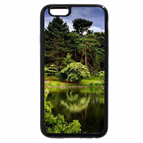 iPhone 6S / iPhone 6 Case (Black) Autumn Bench!