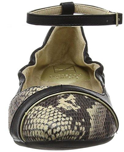 Stone Donna Riley Black Butterfly Chiusa Twists Nero Punta 237 Ballerine Snake qp8xwS1