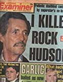 National Examiner 1985 Oct 29 Rock Hudson,Michael J.Fox,Cagney,