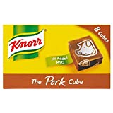 Knorr Stock Cubes Pork (8x10g) - Pack of 2