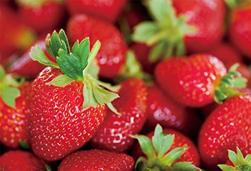 YeeleフルーツBackdrops 7 x 5ft/2.2 X 1.5 M Strawberry画像大人用芸術的肖像写真の撮影小道具写真撮影背景   B07DGG5L48