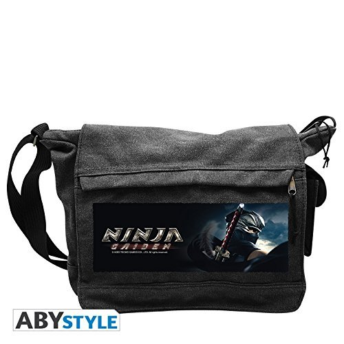 NINJA GAIDEN Messenger Bag Ryu Hayabusa Big Size