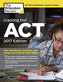 Cracking ACT Practice Tests 2017 ebook