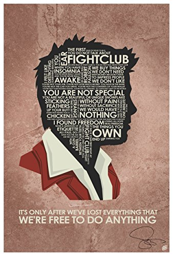 Northwest Art Mall Authentic Autographed Fight Club,IT'S ONL