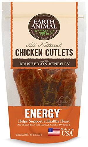 Chicken Cutlets Energy Immune Heart 8oz by Earth Animal