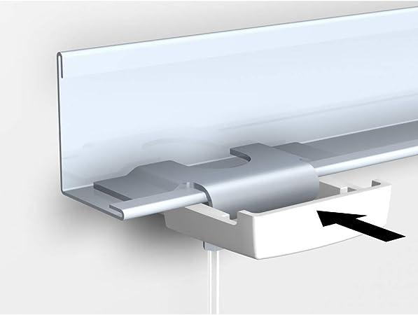 Colgadores para cuadros especialmente para falso techo/Sistema Techos, con cuerda de perlón y de gancho, longitud: 2 m: Amazon.es: Hogar