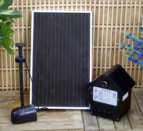 Solar Powered Outdoor 3 WattGarden Water Pump Landscape Fountain Kit