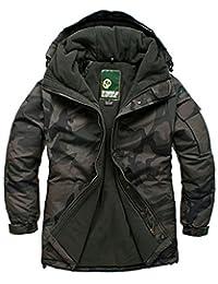SOUTH PLAY Mens Premium Ski SnowBoard Wear Jacket Jumper CAMO KHAKI