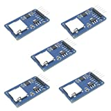 HiLetgo 5pcs Micro SD TF Card Adater Reader