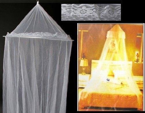 Zanzariera Letto Matrimoniale : Telo anti zanzare zanzariera da soffitto per letto misure cm