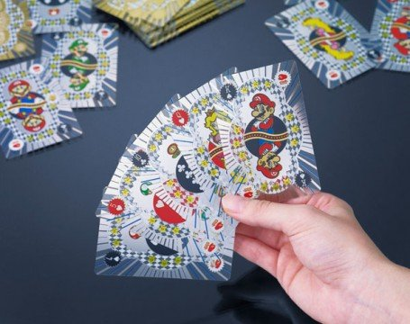 Official Club Nintendo Collection: Platinum Playing Cards