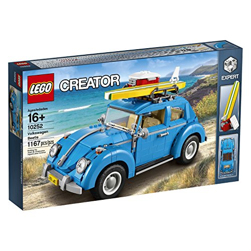 LEGO Creator Expert Volkswagen Beetle 10252 Construction Set (Beetle Vw Old)