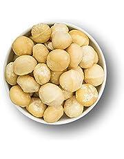 """Nieuwe nieuwe hele macadamia 1 kg noten zonder schaal – ongekookte zouten – onbehandeld zonder additieven – grondstofkwaliteit geschikt voor veganistisch, glutenvrij """"kwaliteit in plaats van kwaliteit"""