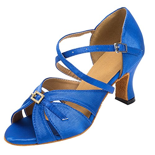 Meijili , Damen Plateau Royalblue