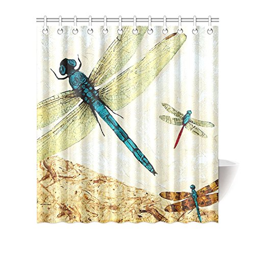 pretty dragonfly shower curtains. Accessories to Match Also Available  Dragonfly Shower Curtain Curtains Kritters in the Mailbox Animal Gifts