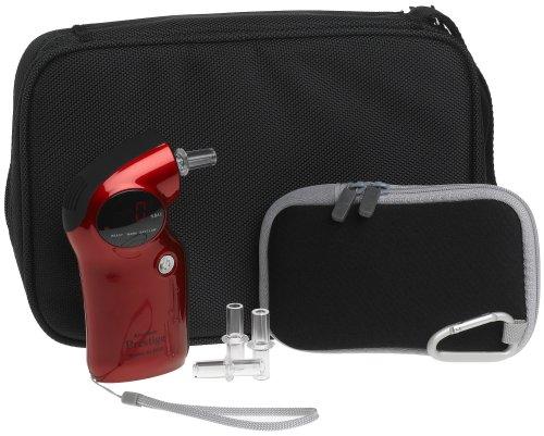 AlcoMate Prestige Breathalyzer, Red by AlcoMate