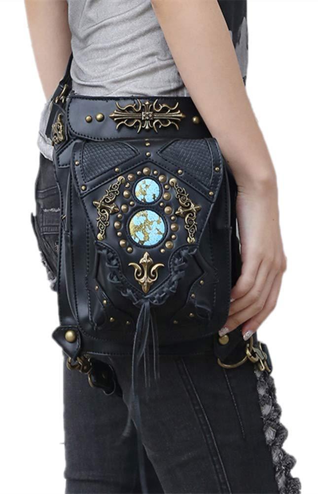 Zhou xue li Die europäische und amerikanische Steampunk-Single Retro Messenger-Tasche für Frauen