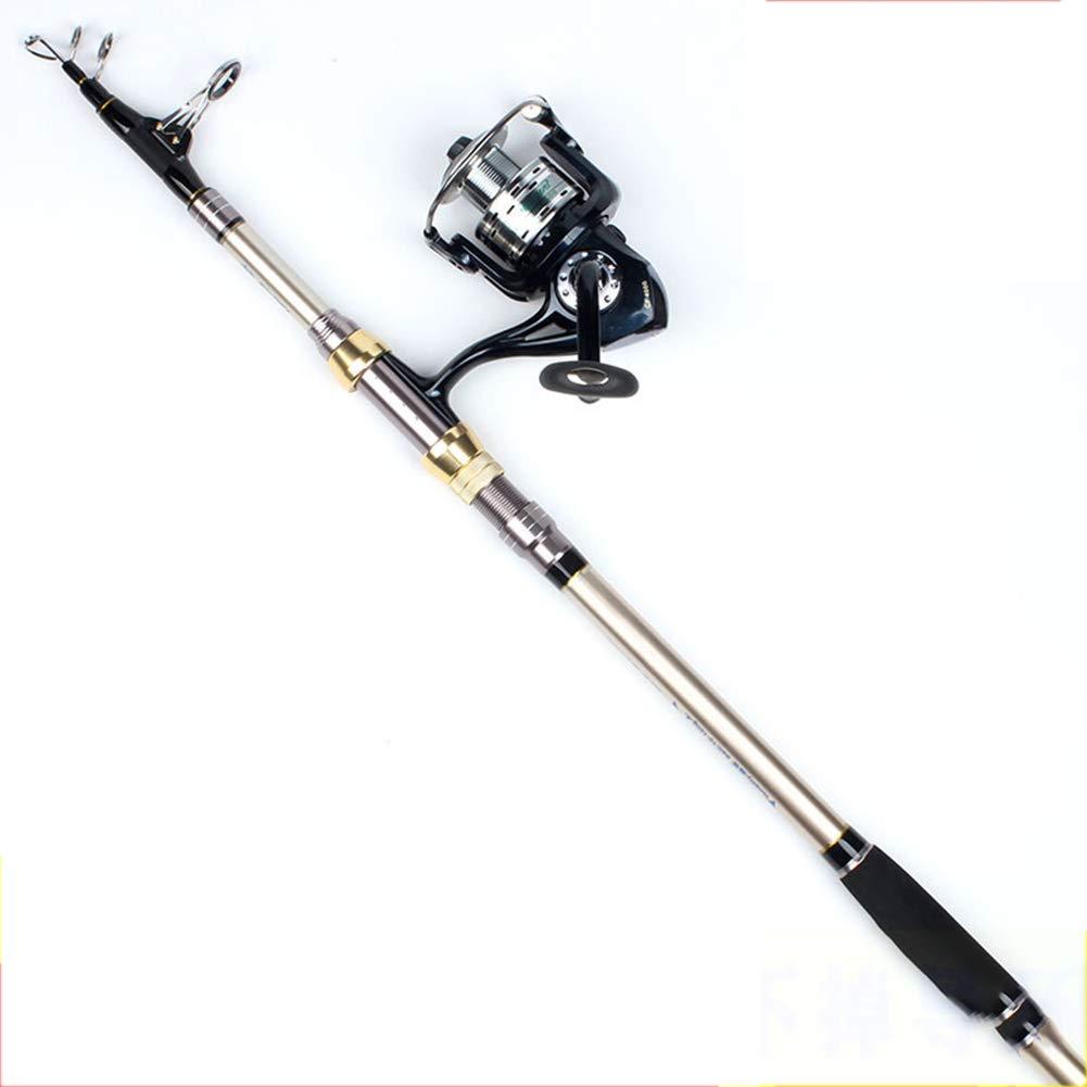 カーボンファイバー 釣り竿、フィッシングリールを装備した初心者向け中型およびロング型釣り竿 3.3~3.6  B07P2HQC4M