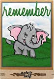 Stampendous Cling Stamp & Die Set-Elephant, Silver