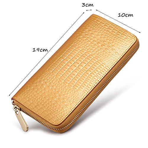 CLOTHES- Europa und die Vereinigten Staaten Leder Umschlag Handtasche Clutch Bag Lady Taschen Handtasche Chain Pack Damen Dinner-Paket ( Farbe : Schwarz ) Gold
