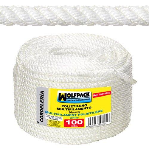 8/mm Wolfpack 16010210/ /Corde polypropyl/ène /à fils multiples Rouleau 100/m