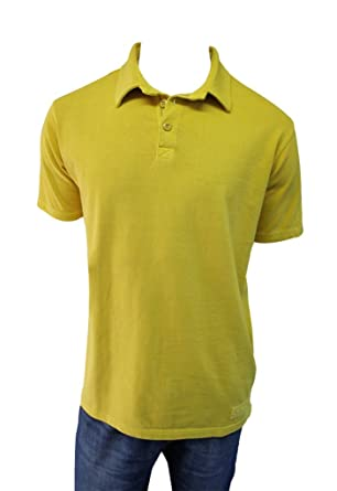 mousq ueton - Polo para Hombre Color Amarillo Ocre Verde XX-Large ...