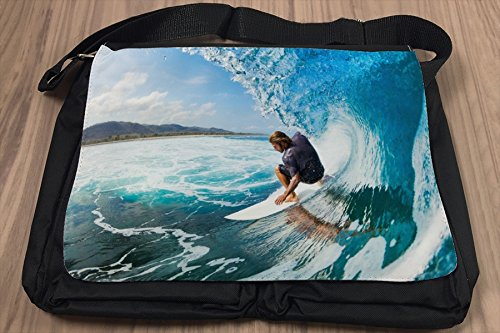 Borsa Tracolla Divertimento Surf Stampato