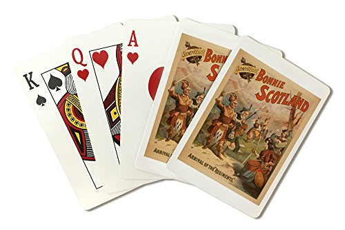 nie Scotland Scottish Play Poster #3 (Playing Card Deck - 52 Card Poker Size with Jokers) ()