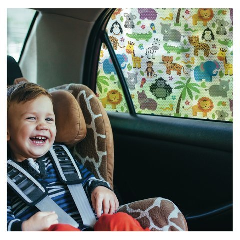 Best Buy! Car Window SunShade - Shield Your Baby from Sun, Glare, UV and Heat - Kids Fun Shade is Dr...