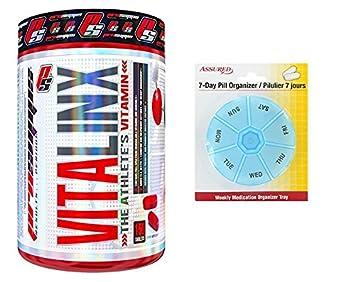 Vitalinx PRO SUPPS vitamina del deportista con el espectro completo de biodisponibles vitaminas y minerales,