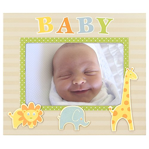Malden International Designs Baby Memories Baby Picture Frame, 4x6, Black
