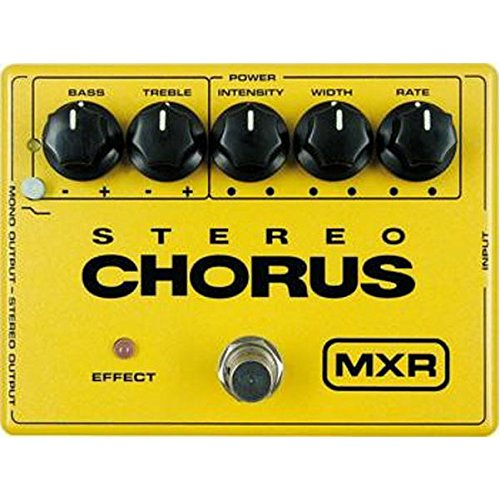 MXR M134 Stereo Chorus (Best Distortion Pedal For Punk)