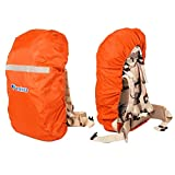 BlueField Reflective Waterproof Backpack Case Cover Camping...