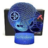 TriPro Football Helmet Shape 3D Illusion 7 Colors