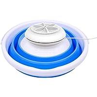 Barril plegable lavadora/turbina ultrasónica/mini portátil pequeño/dormitorio/calcetines/ropa interior artefacto de…