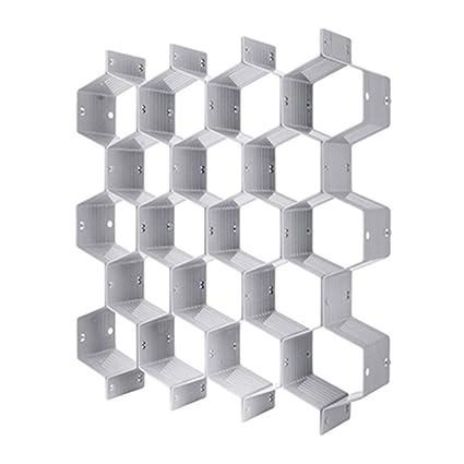 Amazon.com: cyclamen9 Honeycomb Drawer Organizers Dividers ...
