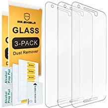[3-PACK]- Mr Shield For LG (Google) Nexus 5X 2015 Newest [Tempered Glass] Screen Protector [0.3mm Ultra Thin 9H Hardness 2.5D Round Edge] with Lifetime Replacement Warranty