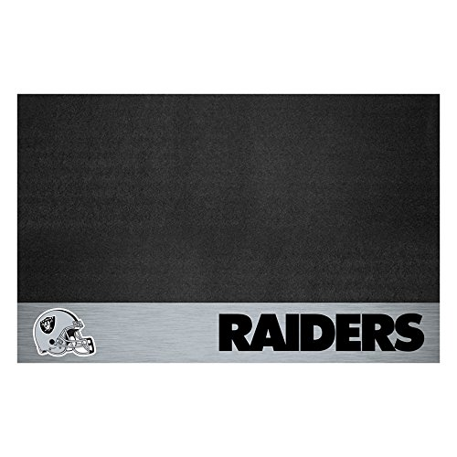 NFL Oakland Raiders Grill Mat Tailgate ()