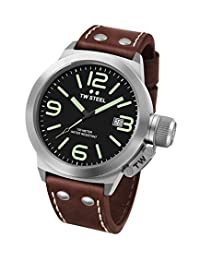 TW Steel Men's CS21 Analog Display Quartz Brown Watch