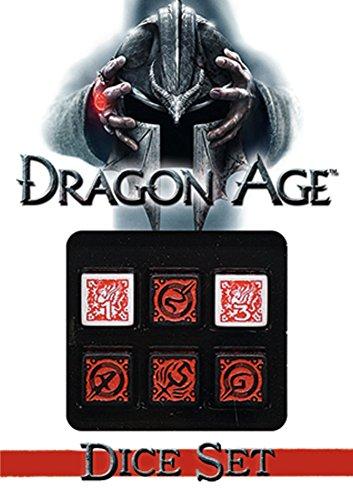Dragon Age Dice Set (Inglese) Gioco – 16 mag 2017 Various Green Ronin Pub 1934547557 GRR2807