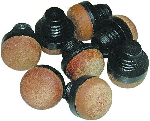 Billar - Puntera de taco de billar de 12mm - Rosca de plastico 10 unidad