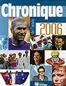 Chronique de l'année 2006 par Marmin