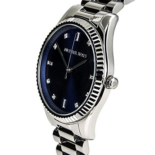 b4acb13742ab Michael Kors Blake Blue Dial Stainless Steel Women s Watch - Import ...