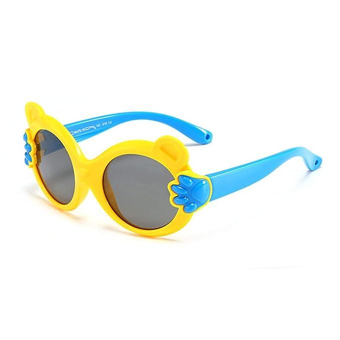 Wang-RX Ojo de gato para niños Gafas de sol Polarizadas para ...