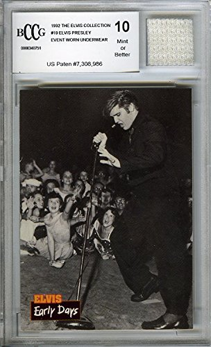 Amazoncom Elvis Presley The Elvis Collection Vintage Card With A
