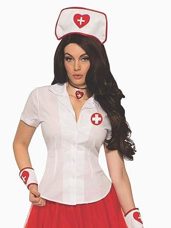 Amazon.com: forum novelties enfermera sexy para hombre ...